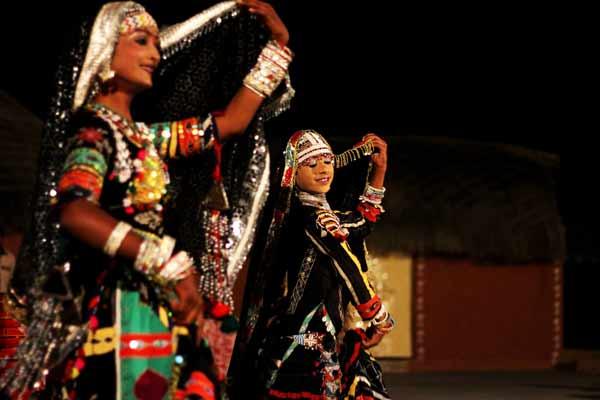 Tradycyjny taniec w Radżastanie